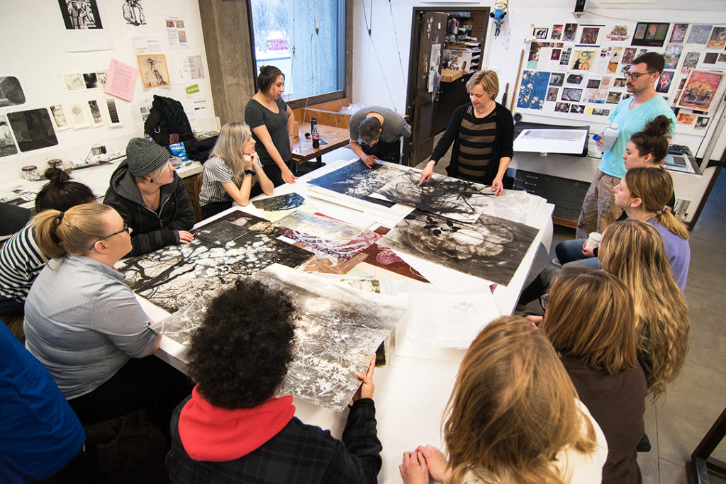 Workshop with Stephanie Hunder