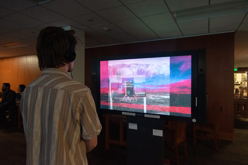 Video Evidence Exhibition, Spring 2020