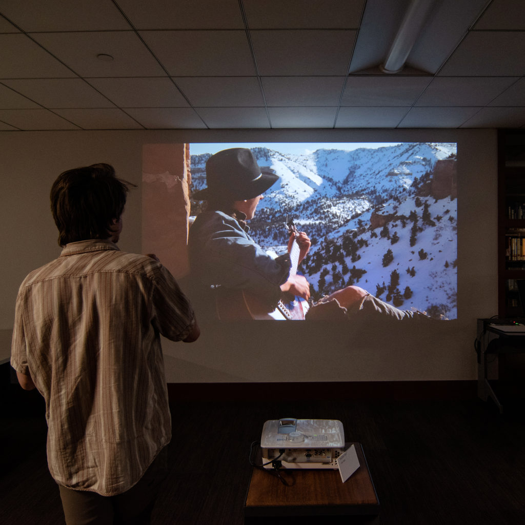 Video Evidence Exhibition, artwork by Alec Bang
