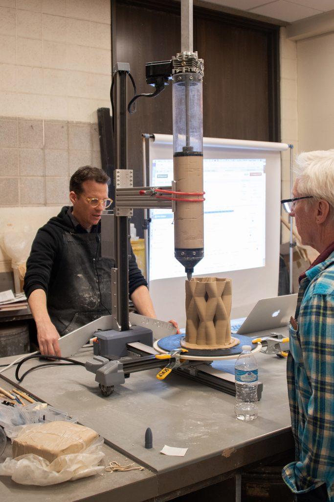 Workshop with Visiting Artist Brian Czibesz