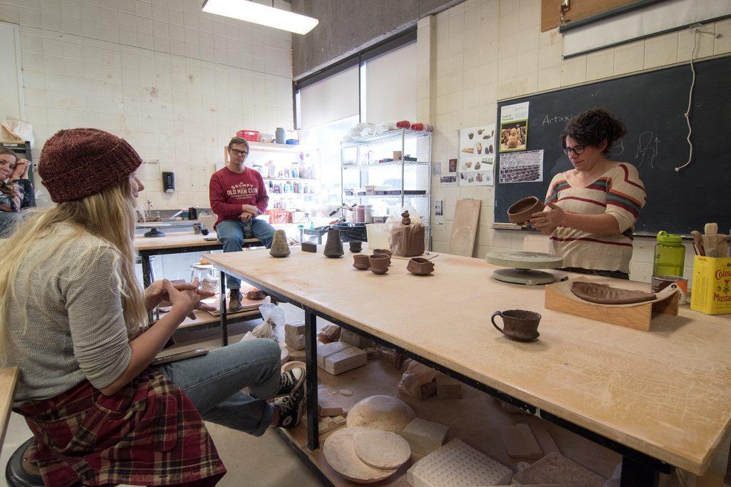 Making Demonstration with visiting artist Shasta Krueger