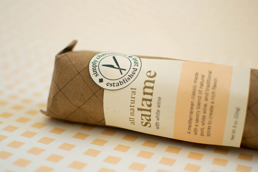 Simply Charcuterie, Bethany Dahlstrom, 2020, Branding / Packaging