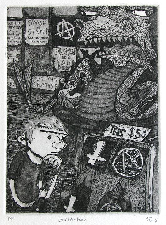 Advanced Print. Steve Thueson. Etching. 2013