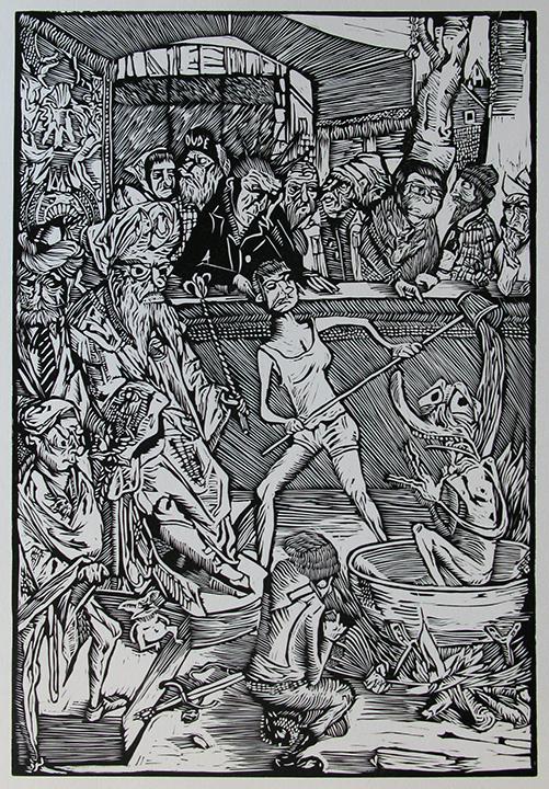 Advanced Print. Steve Thueson. Relief. 2013.