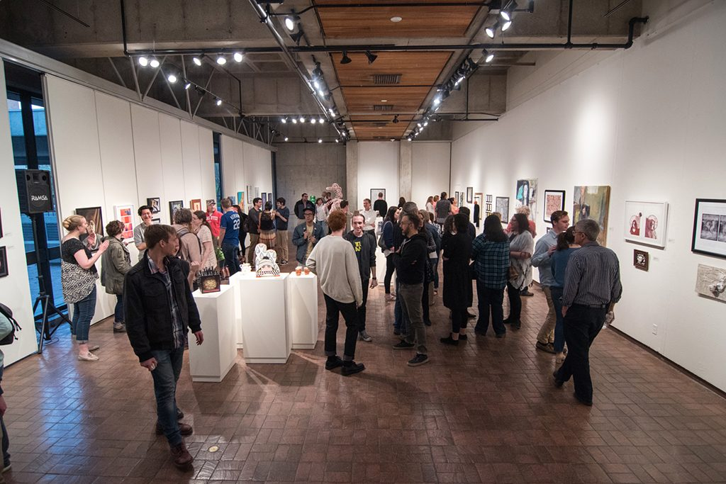 2017 Student Exhibition, Gittins Gallery