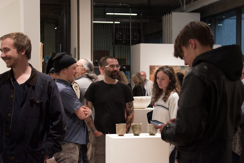 Annual Student Exhibition, 2018: Opening Reception