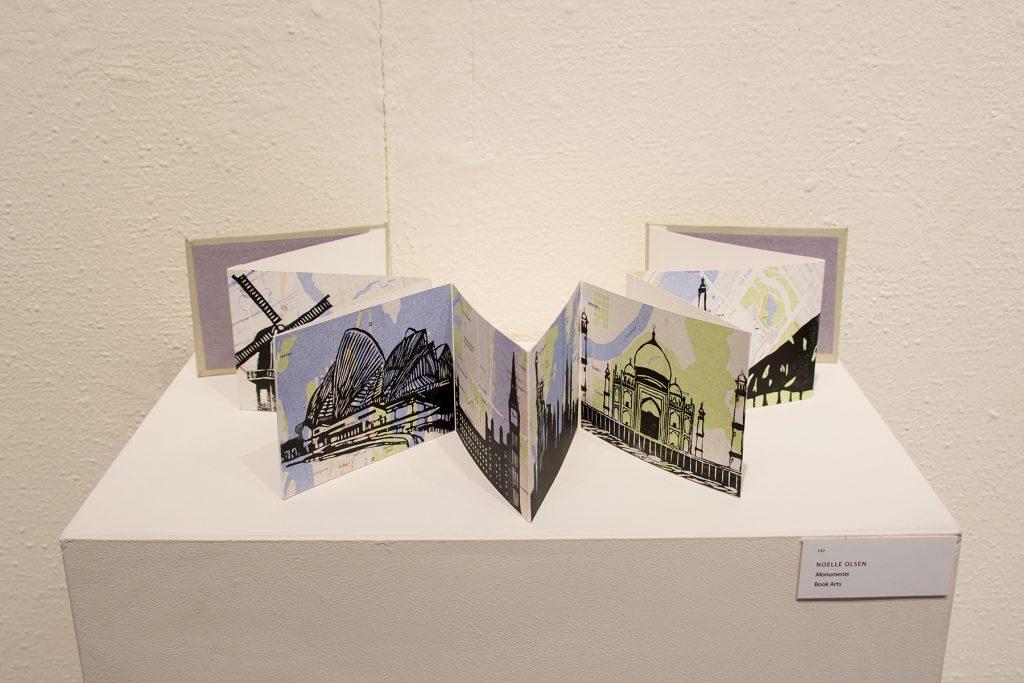 Annual Student Exhibition, 2018: artwork by Noelle Olsen