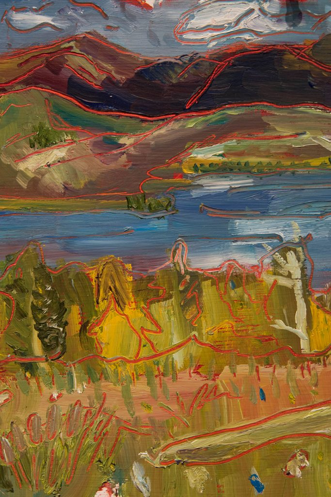 Open Sky: Taft-Nicholson Residency Exhibition, Gittins Gallery, September 2017; artwork: Amy Ungricht