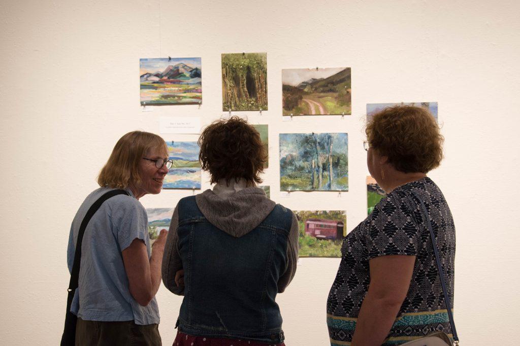 Open Sky: Taft-Nicholson Residency Exhibition, Gittins Gallery, September 2017
