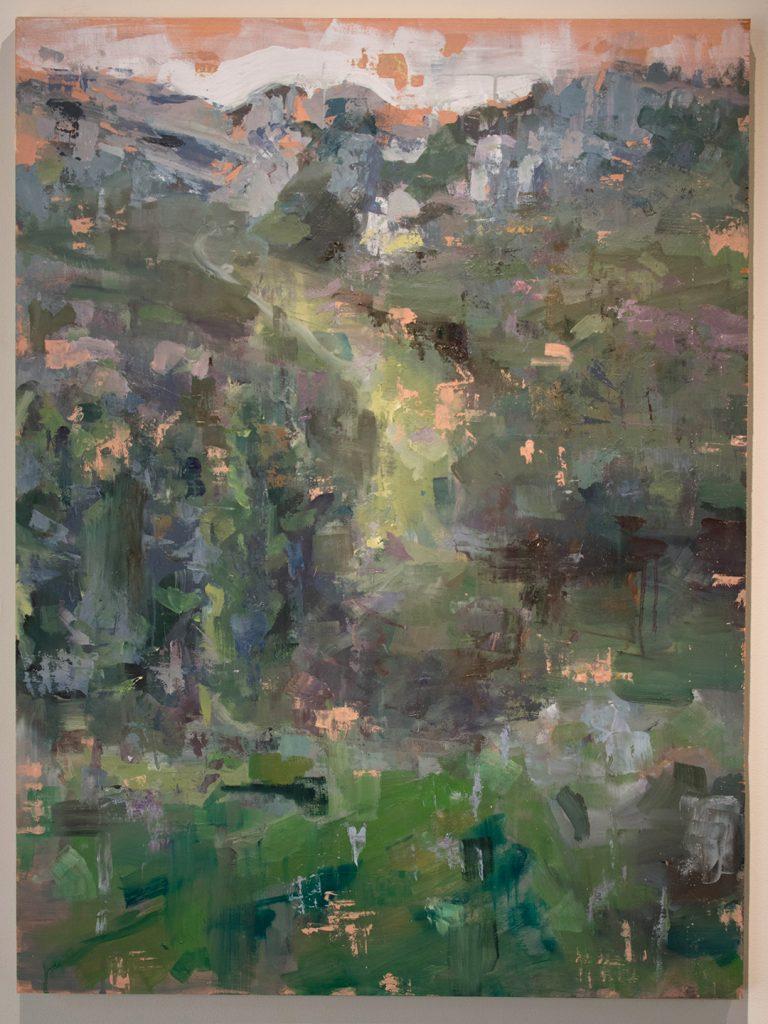 Open Sky: Taft-Nicholson Residency Exhibition, Gittins Gallery, September 2017; artwork: Mitchell Lee