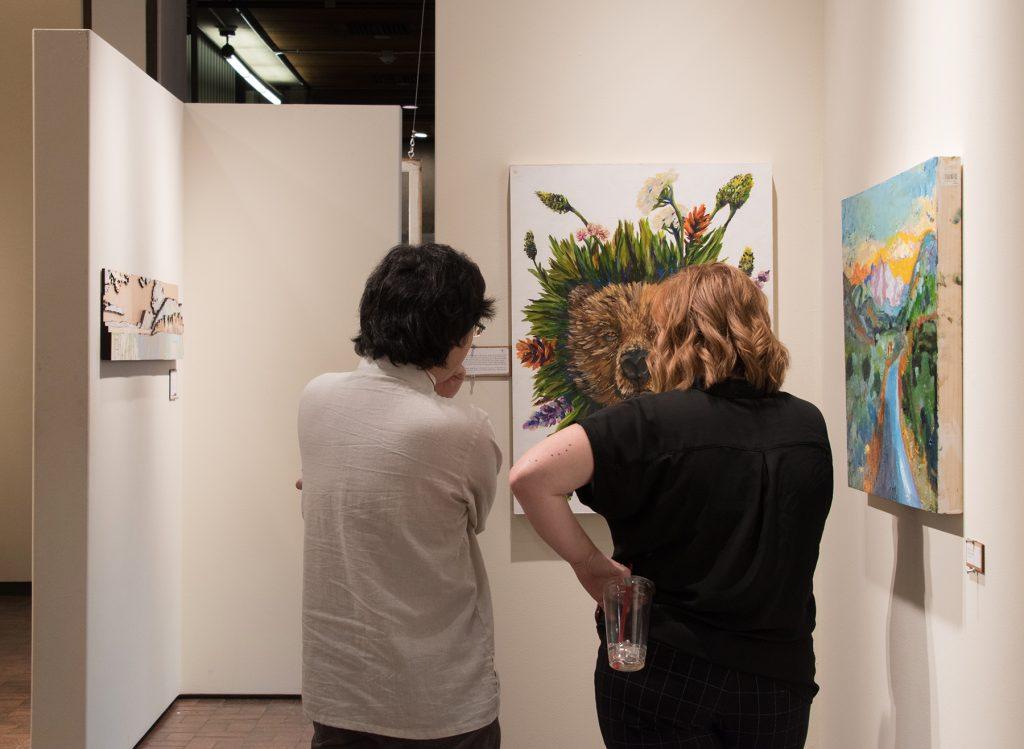 Centennial Windows: Taft-Nicholson Painting Residency Exhibition 2018