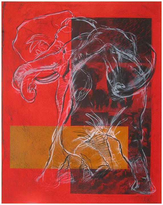 Advanced Print. Tim Dayhuff. Lithograph. 2015.