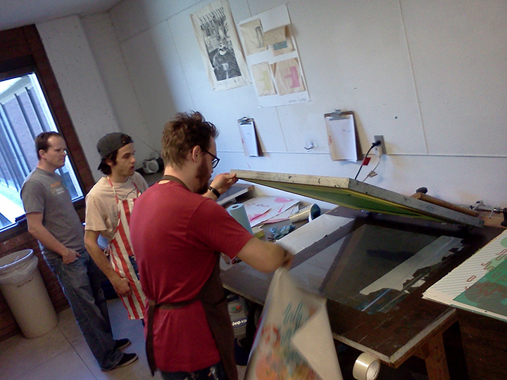 Visiting Artist Trent Call