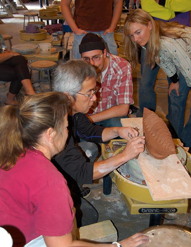 Workshop with Kato Takahiko