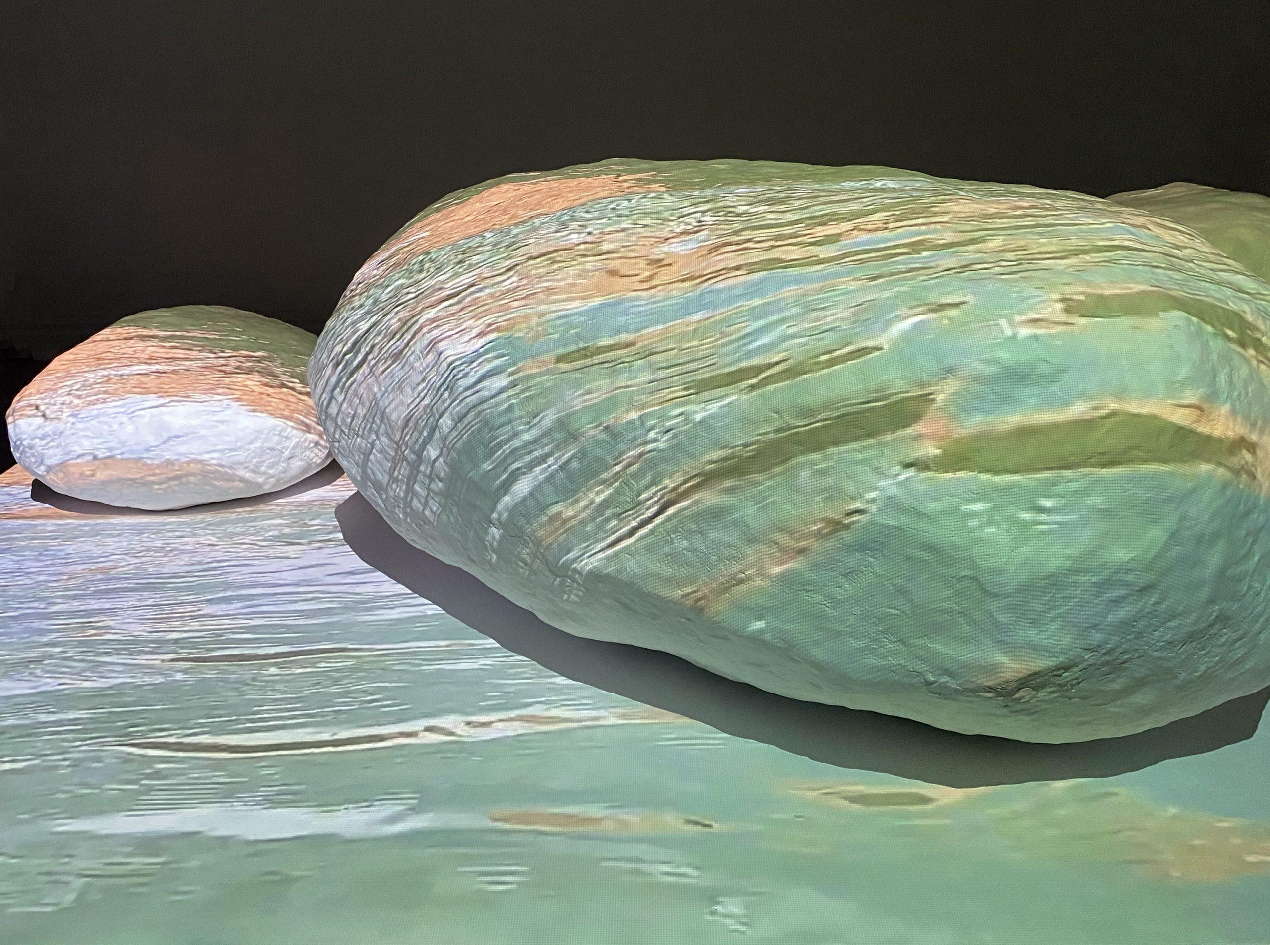Where Water and Rock Collide, Wendy Wischer