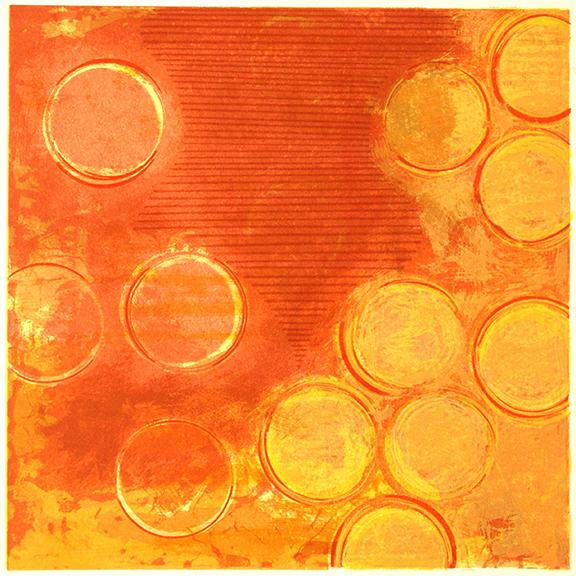 Annie Boyer. Painting Student. Screenprint. 2009.
