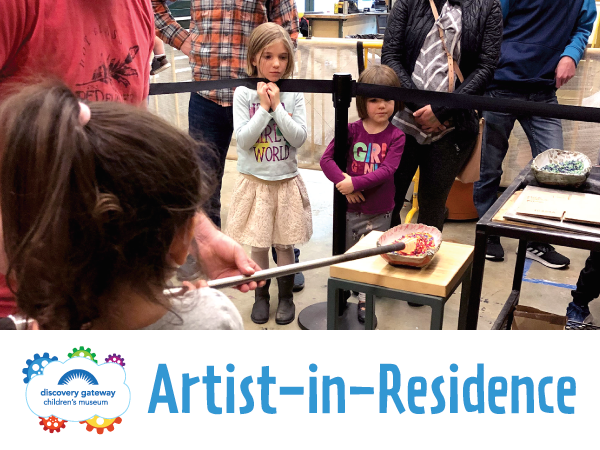 Discovery Children's Museum Artist in Residence