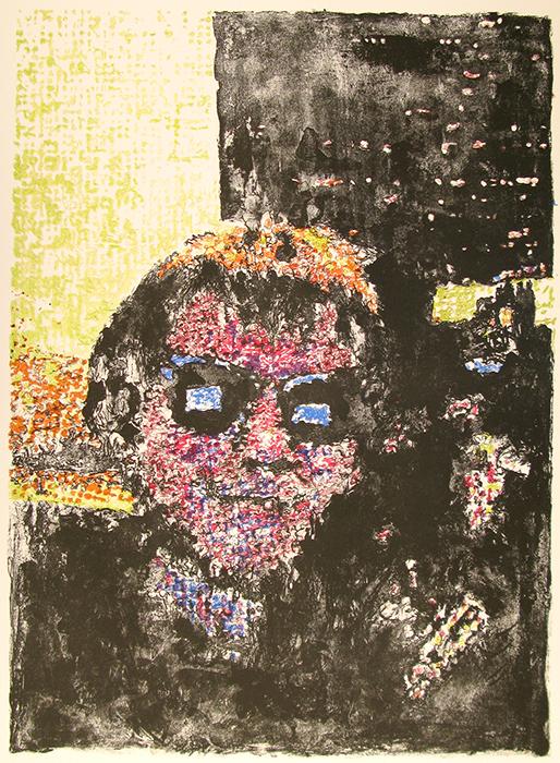 Advanced Print. David Bradway. Lithograph. 2009.