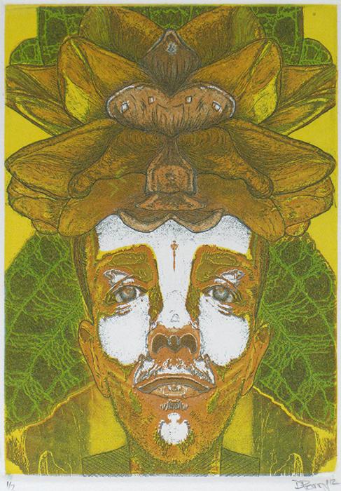 Advanced Print. Derek Perry. Etching. 2012.