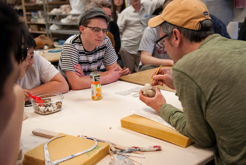 Workshop with Jason Briggs