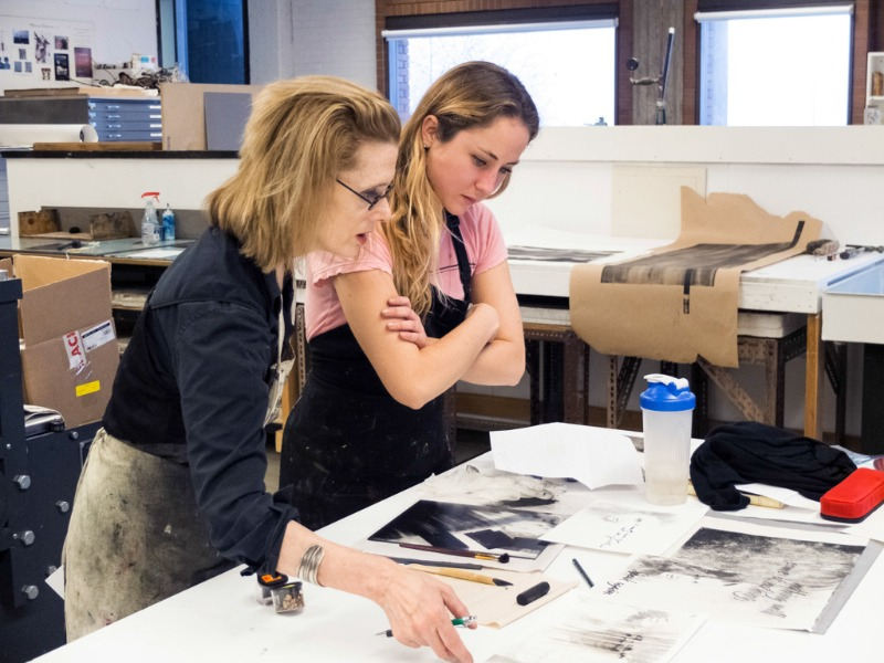 Printmaking Workshop with Lesley Dill