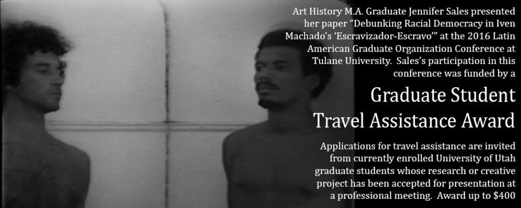 grad student travel assistance