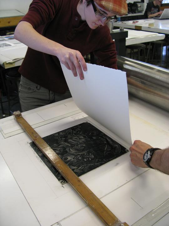 Printmaking Workshop with Tom Huck