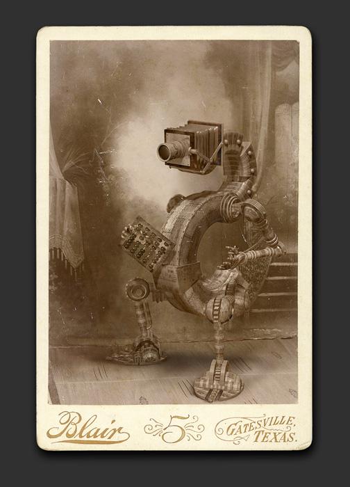 Mechanical Brides - Cabinet Card
