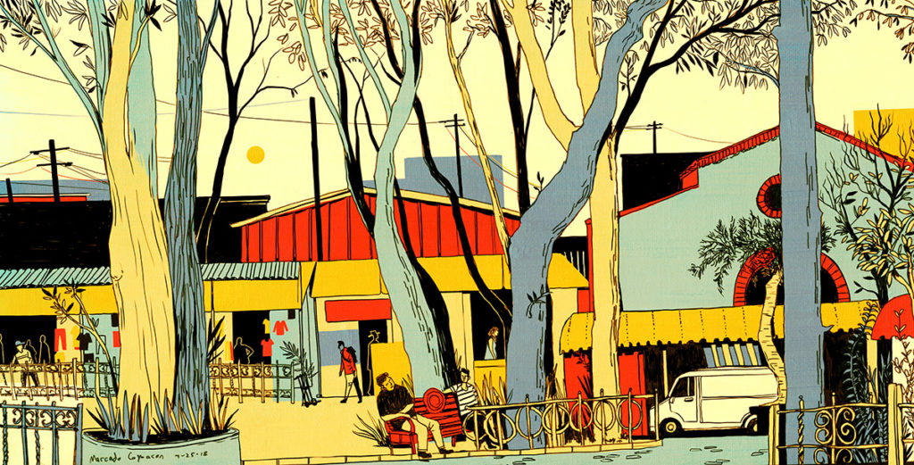 Artwork by Michael Hirshon