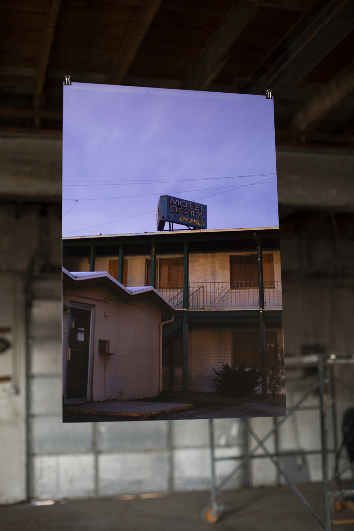 Motel (installed), Araceli Haslam