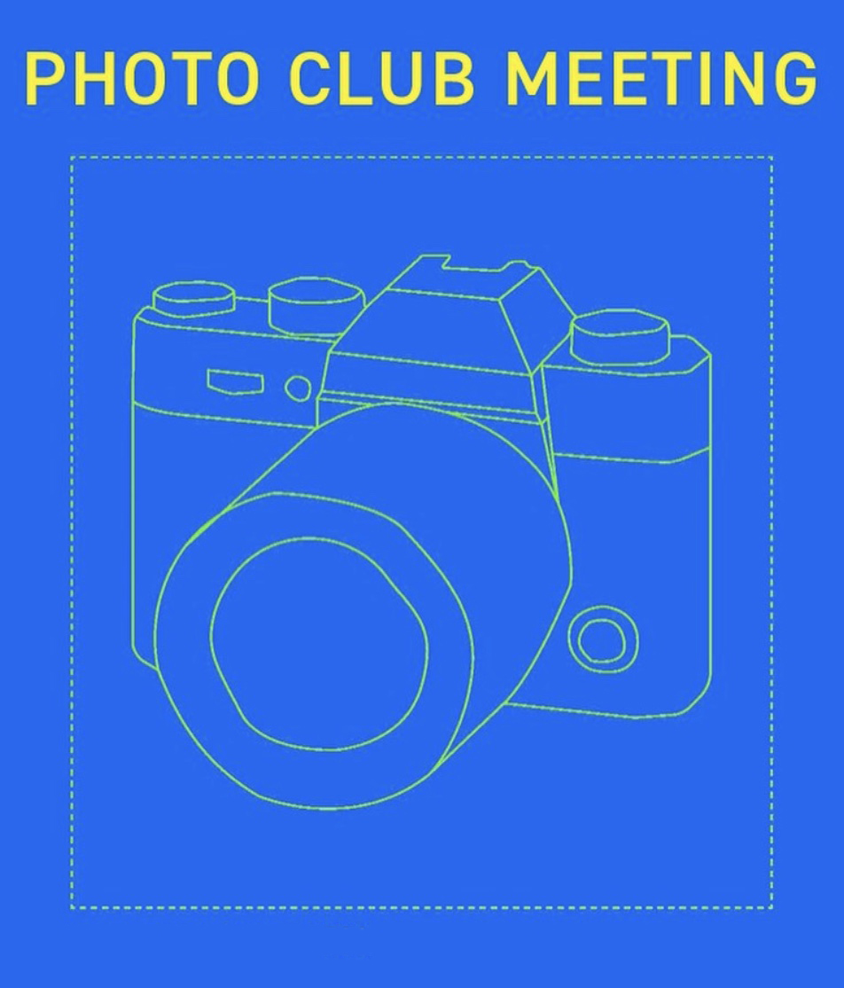 Photo Club flyer