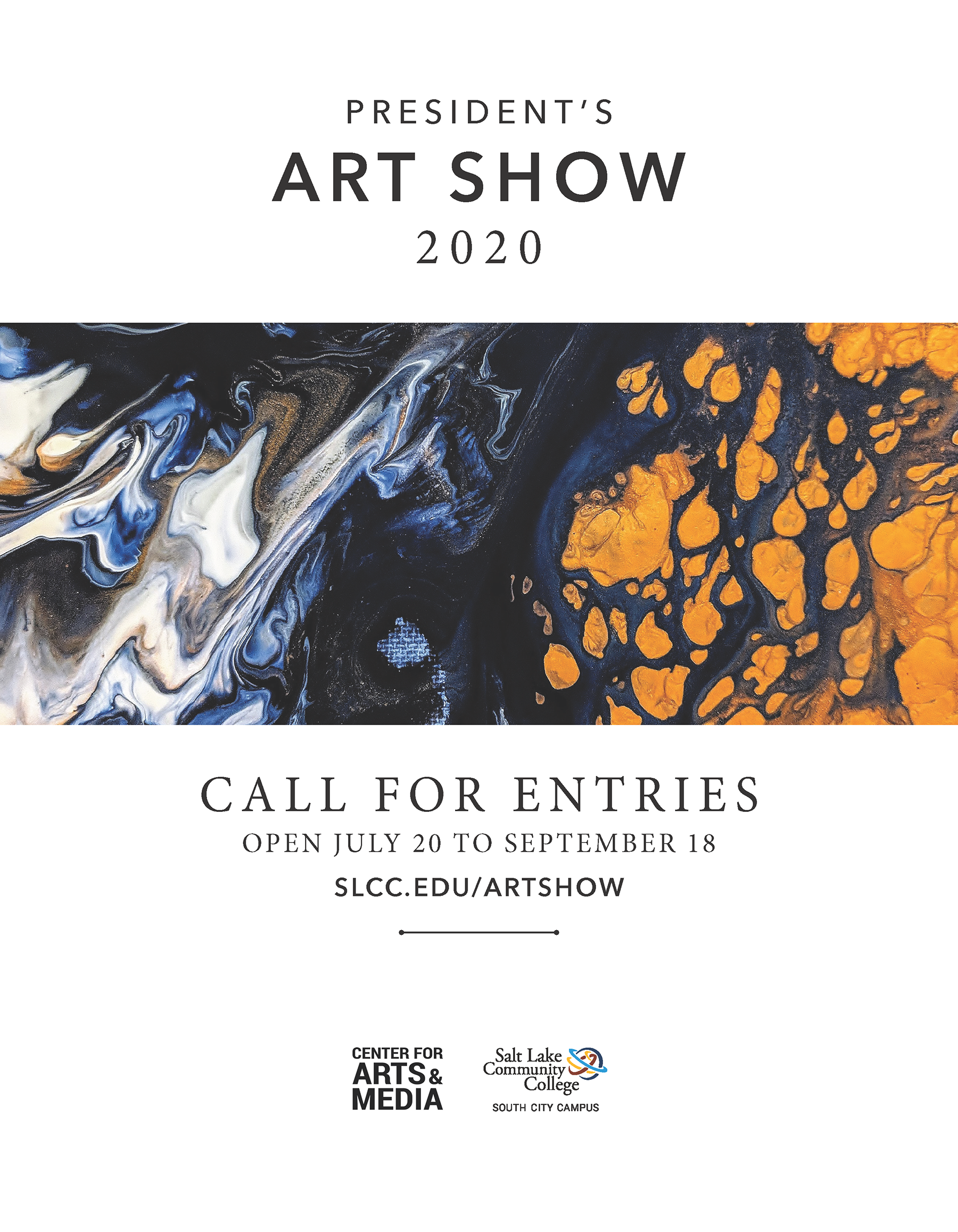 SLCC Presidents Art show call for entries