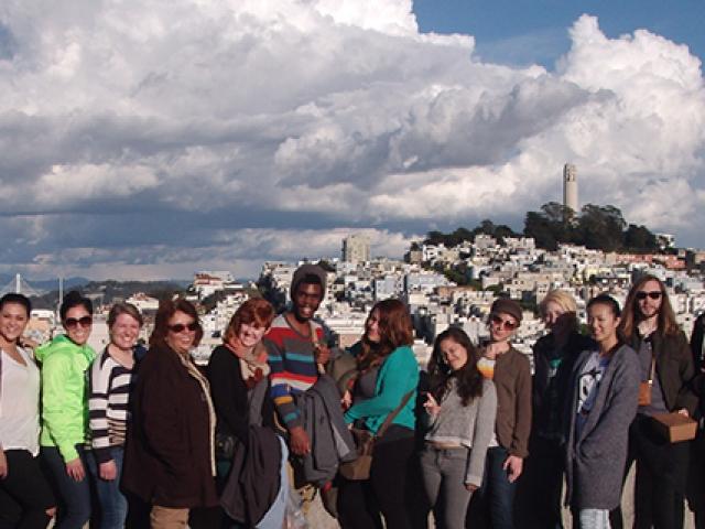 Murals Class Trip: San Francisco Art Institute