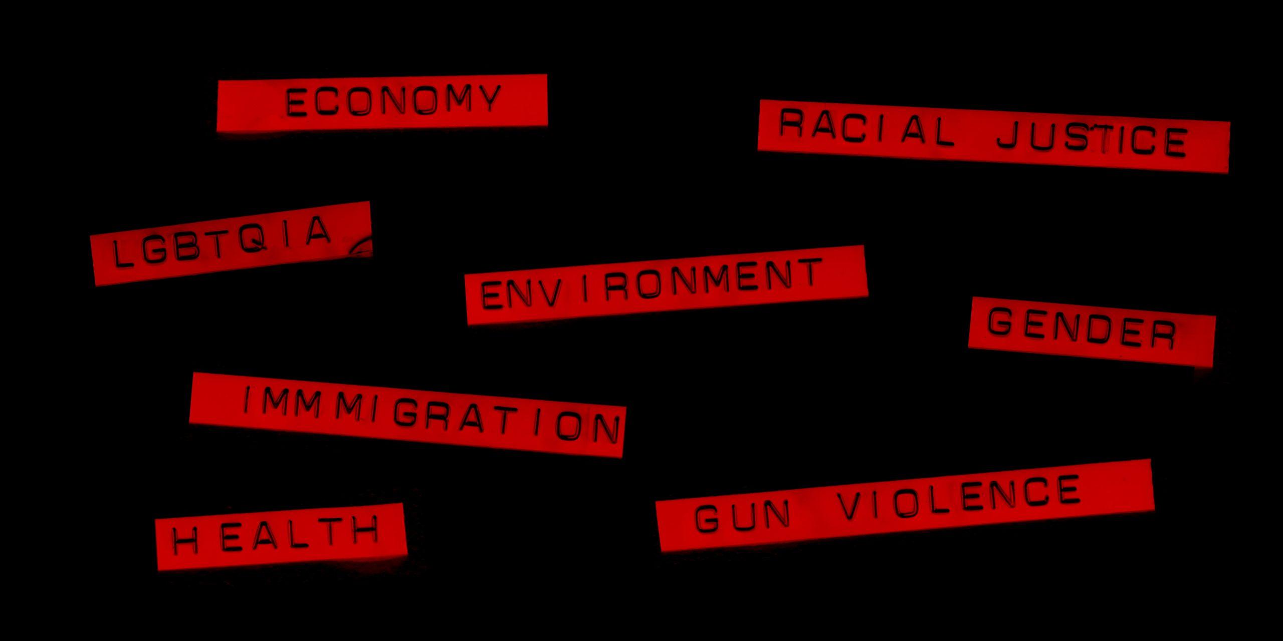 Social Issues list for YAAA