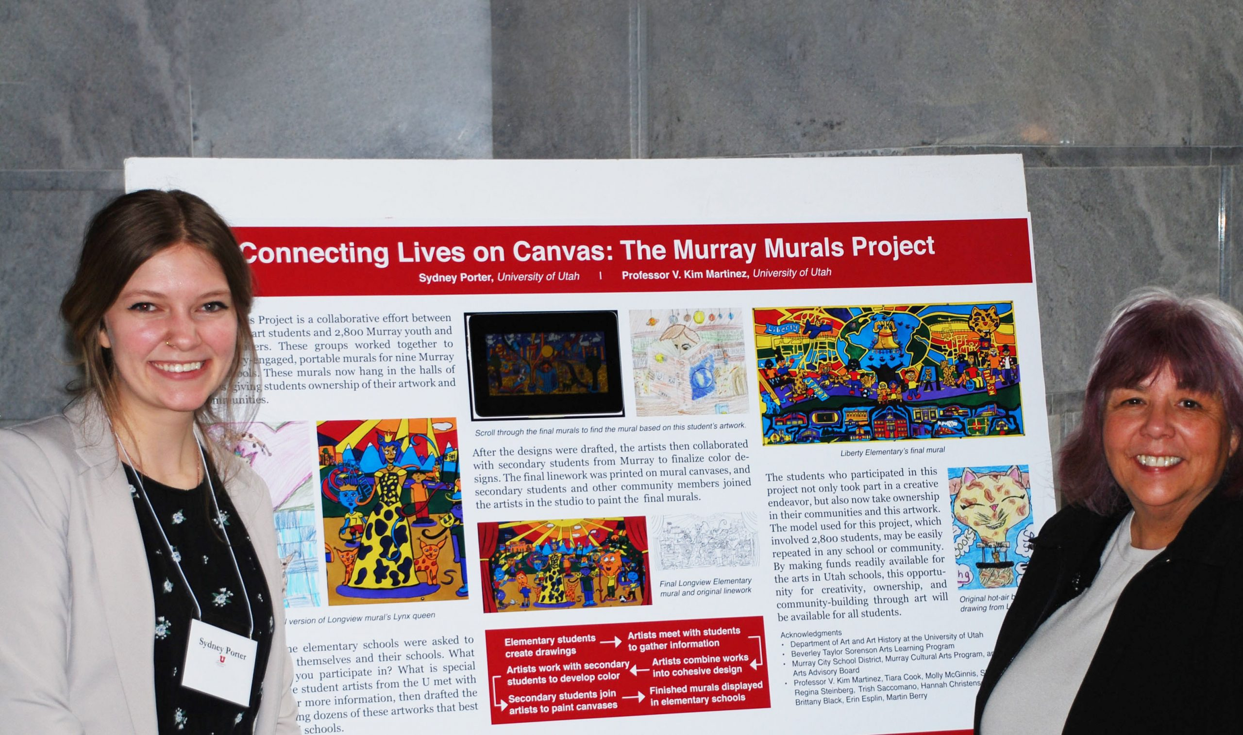 Sydney Porter presents research to UT legislature