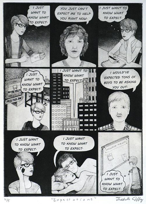 Advanced Print. Trishelle Jeffries. Relief. 2012.