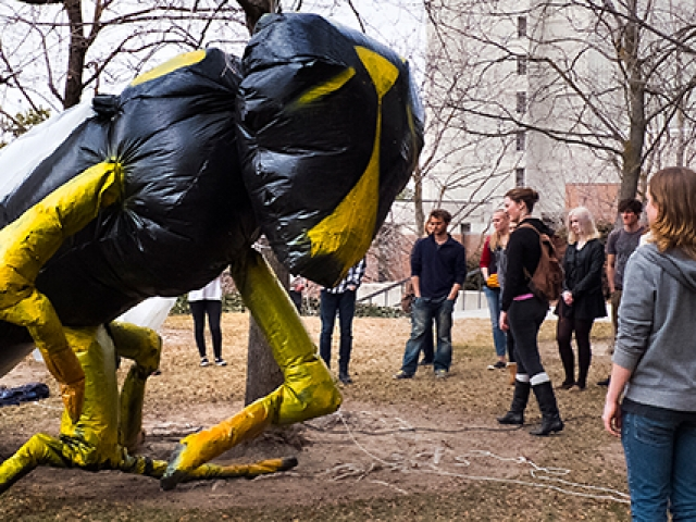 wasp inflatable